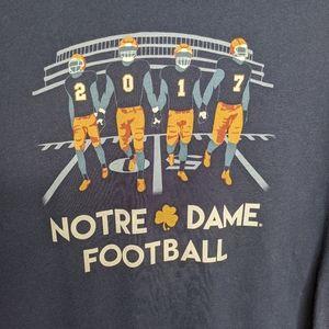 Notre Dame Football Fighting Irish T-shirt Large
